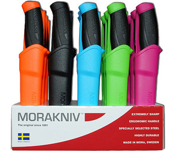 Нож с ножнами Mora Companion Colour-Mix (12095)