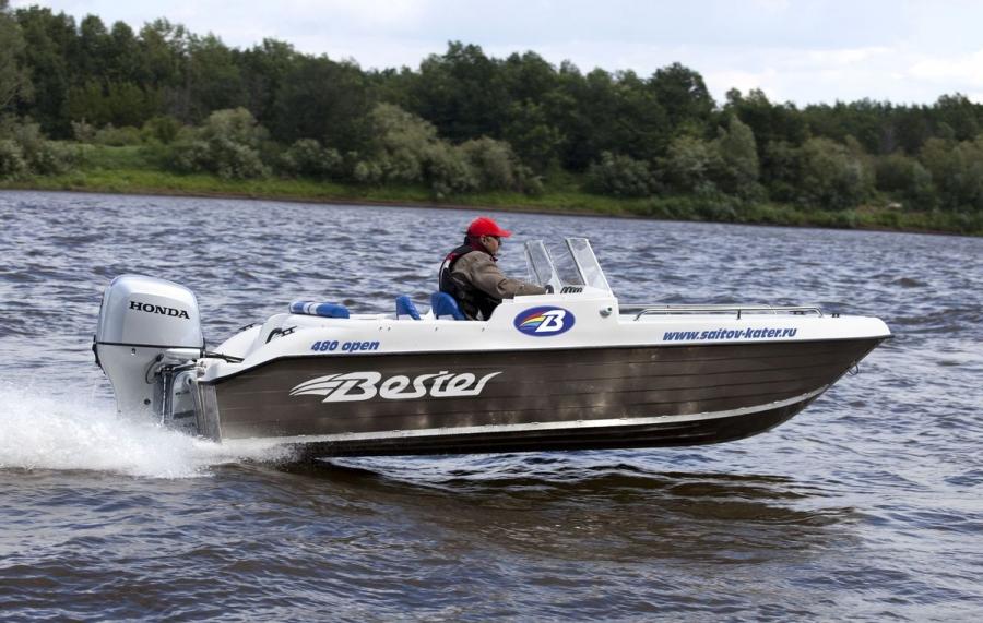 моторные лодки bester