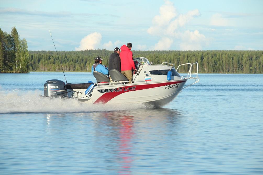 лодка беркут рыбалка