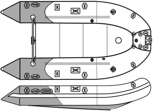 выкройки лодки пвх с транцем