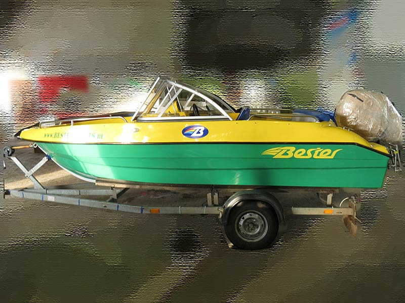 моторная лодка из сосновки