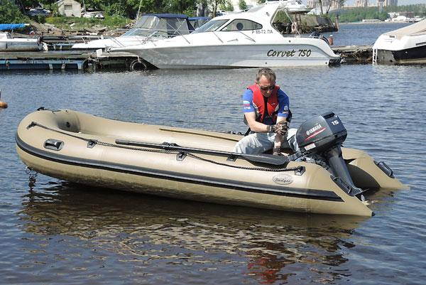 тюнинг лодок из пвх баджер