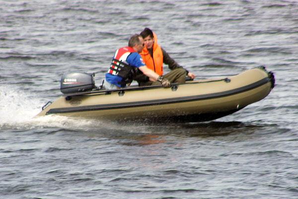 лодка для охоты баджер