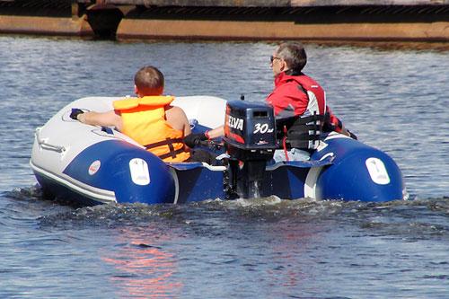видео лодки баджер 430